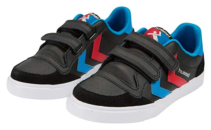 Baskets hummel Stadil Jr Leather Low  Mixte Enfant