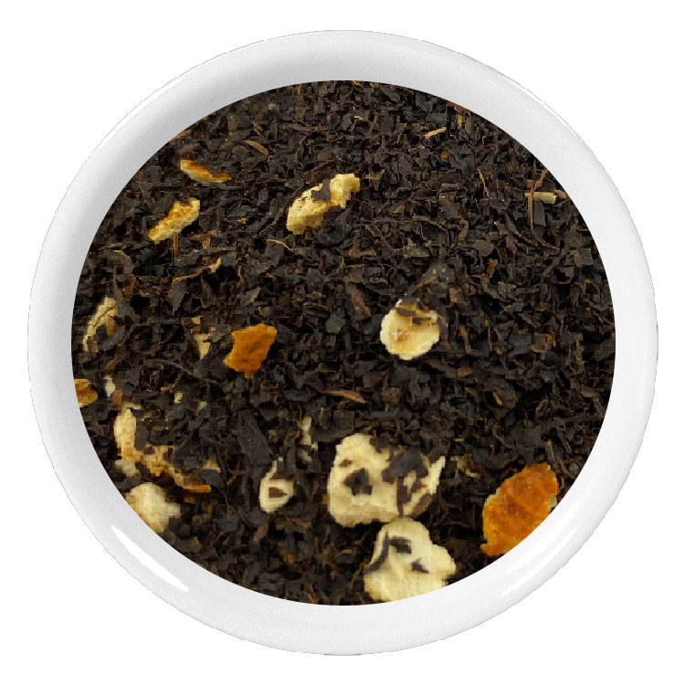 Thé noir de Ceylan BOP aux écorces d\'orange douce