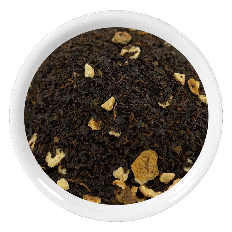 Thé noir de Ceylan BOP aux écorces de citron du Portugal