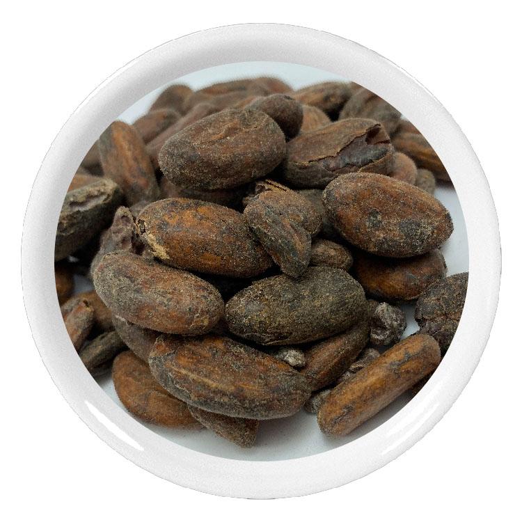 Fèves de cacao torréfiées