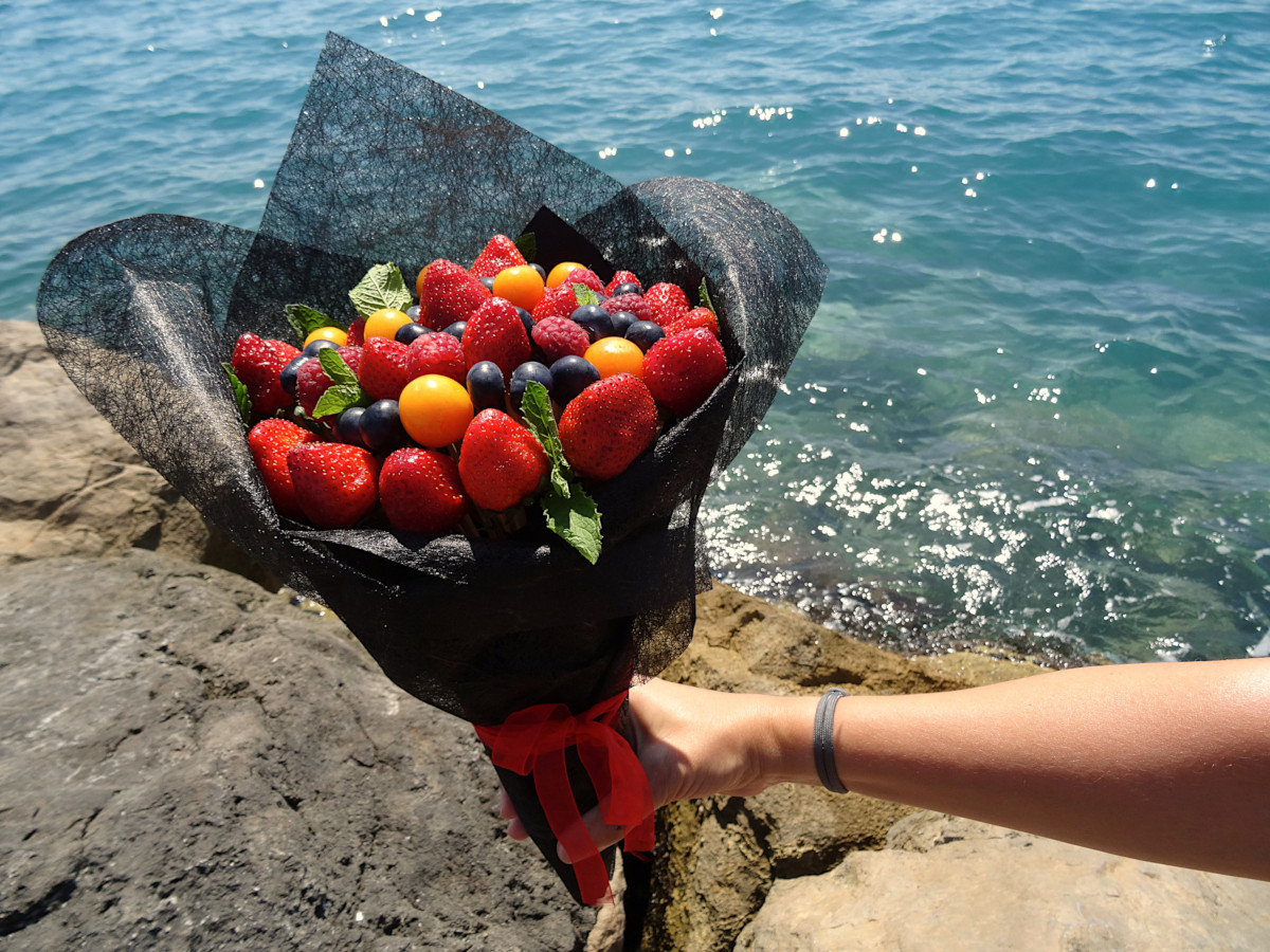 Bouquet de fruits rouges