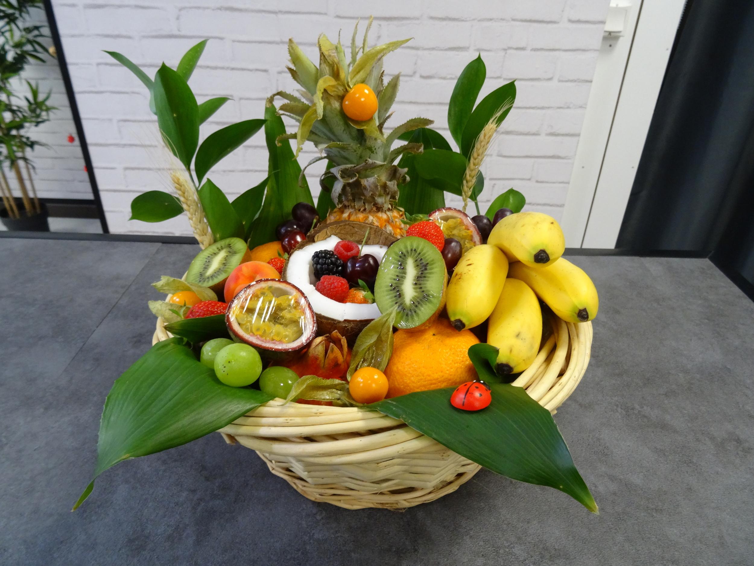 Corbeille de fruits exotiques - 3 kilos