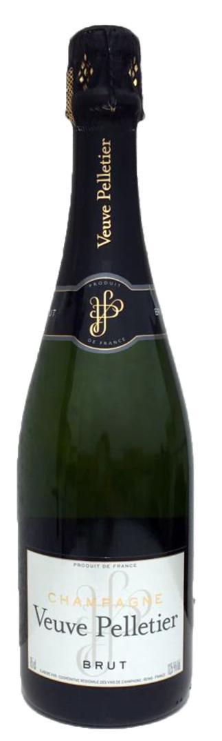 Bouteille de champagne Veuve Pelletier 75CL