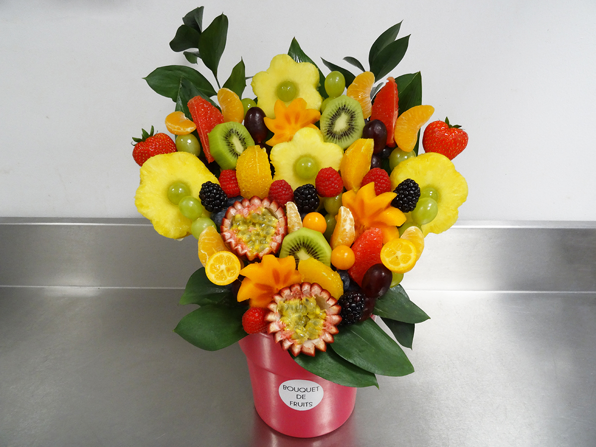 Bouquet de fruits C&J - Grand