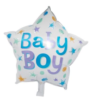 balon baby boy