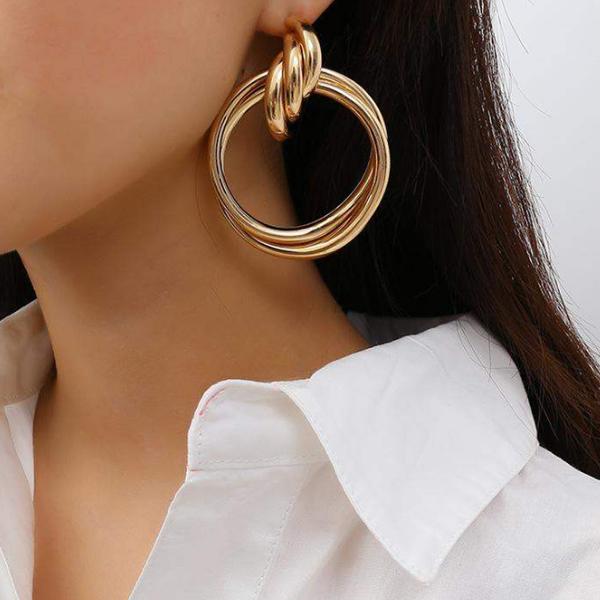 Les Boucles d\'oreilles rondes Montmartre