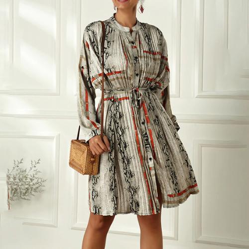 Robe oversize imprimée V2 Beaugrenelle