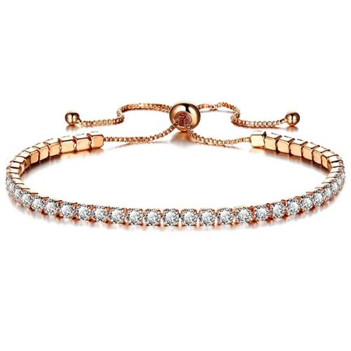 Bracelet réglable zircon cubique Montmartre