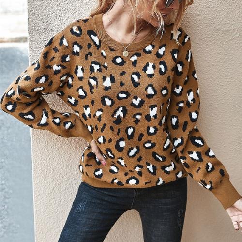 Pull léopard Iéna