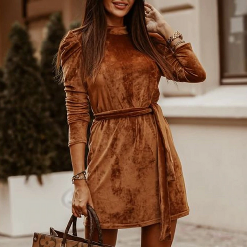 La Robe velours Trocadéro
