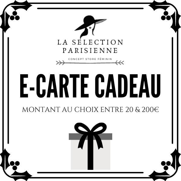carte cadeau en ligne la selection parisienne mode femme bijoux tendance décoration chic idée cadeau noel pas cher 1