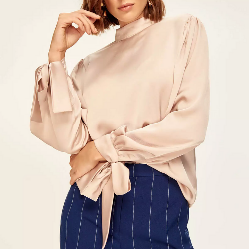 Blouse satin Beaugrenelle