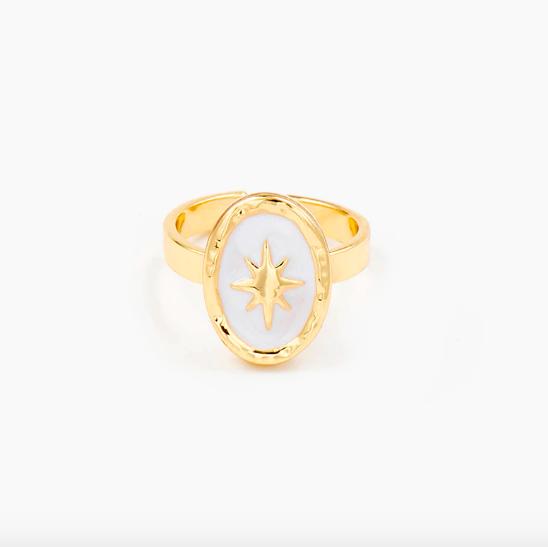 La Bague ajustable étoile Montorgueil