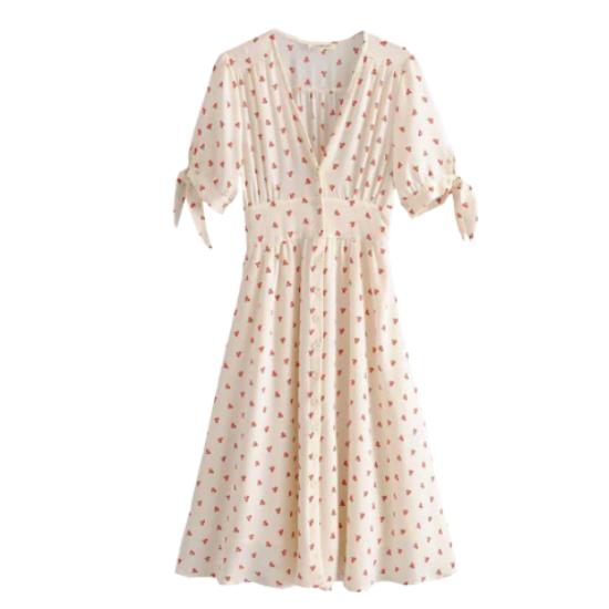 La robe cerise Montsouris