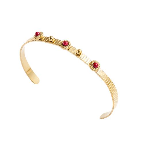 Le jonc doré à pierre rouge Montsouris