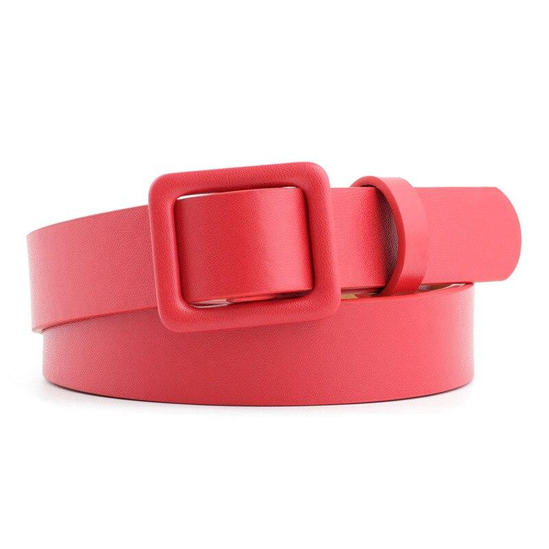 La ceinture à boucle carrée Montsouris