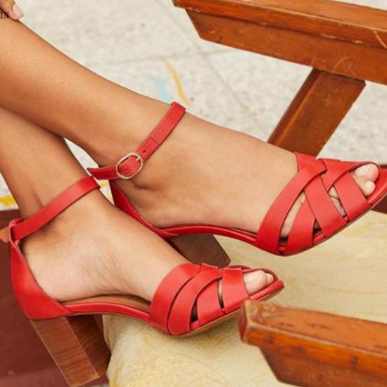 Les sandales à talons Montsouris