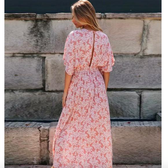 La Robe maxi imprimée Montmartre