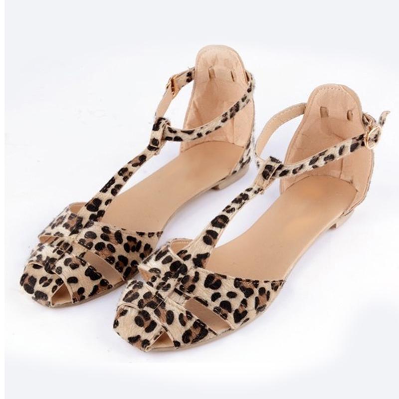 Les Sandales léopard Quai de Seine