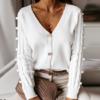 cardigan blanc mode femme automne 2020 la selection parisienne 2