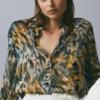 chemisier imprimé floral automne hiver femme vetement tendance la selection parisienne boutique mode en ligne