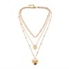 multi colliers sautoir doré femme bijoux bohème la selection parisienne