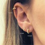 petites boucles doreilles gold argent zirconium bijoux femme petit prix la selection parisienne