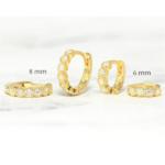 petites boucles doreilles goldzirconium bijoux femme petit prix la selection parisienne