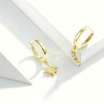 petites boucles doreilles dorées pendantes bijoux fantaisie petit prix la selection parisienne 2