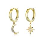 petites boucles doreilles dorées pendantes bijoux fantaisie petit prix la selection parisienne 1