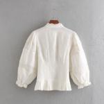 blouse blanche brodée femme la selection parisienne
