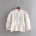 blouse blanche brodée femme coton bohème la selection parisienne