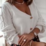 cardigan blanc mode femme automne 2020 la selection parisienne 3