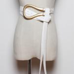 ceinture de taille blanche chic la selection parisienne