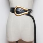ceinture de taille noire chic femme la selection parisienne