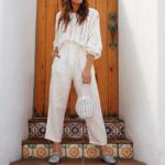 pull tricot blanc loose femme la selection parisienne en ligne 1