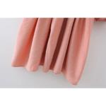 robe courte rose broderies volants femme la selection parisienne eshop