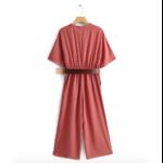 combinaison vieux rose femme mi saison collection septembre 2020 eshop mode en ligne pas cher 1