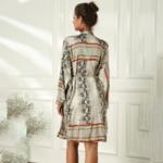 robe oversize à manches longues imprimée chic femme eshop mode 2