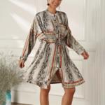 robe oversize à manches longues imprimée chic femme eshop mode 5
