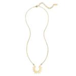 collier pendentif doré boho chic soleil bijou fantaisie femme pas cher en ligne 1