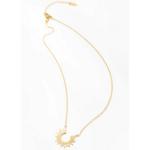 collier pendentif doré boho chic soleil bijou fantaisie femme pas cher en ligne 2