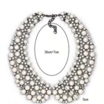 collier chocker perles fantaisie col claudine bijou femme en ligne 3