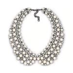 collier chocker perles fantaisie col claudine bijou femme en ligne bijou perle