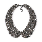 collier chocker perles fantaisie col claudine bijou femme en ligne black strass