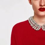 collier chocker perles fantaisie col claudine bijou femme en ligne pas cher