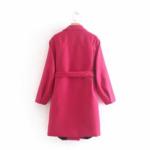 manteau fushia laine pour femme rose eshop mode la selection parisienne 1