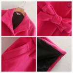 manteau fushia laine pour femme rose eshop mode la selection parisienne 2