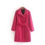 manteau fushia laine pour femme rose eshop mode la selection parisienne 3