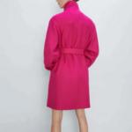 manteau fushia laine pour femme rose eshop mode la selection parisienne